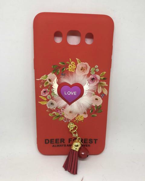 Husa Red Heart Samsung Galaxy J7 2016 0