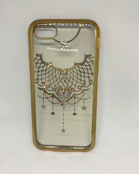 Husa Gold Rhinestones iPhone 7 / iPhone 8 0