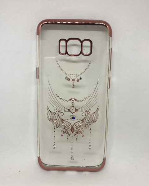 Husa Rhinestones Rose Samsung Galaxy S8 Plus 0