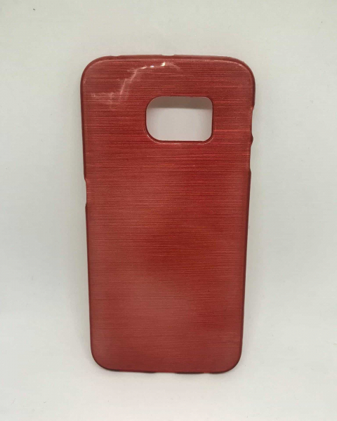 Husa Simple Red Samsung Galaxy S6 Edge 0