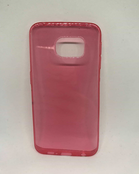 Husa Red Transp Samsung Galaxy S6 Edge [0]