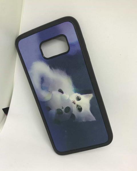 Husa Cats Samsung Galaxy S7 Edge 0