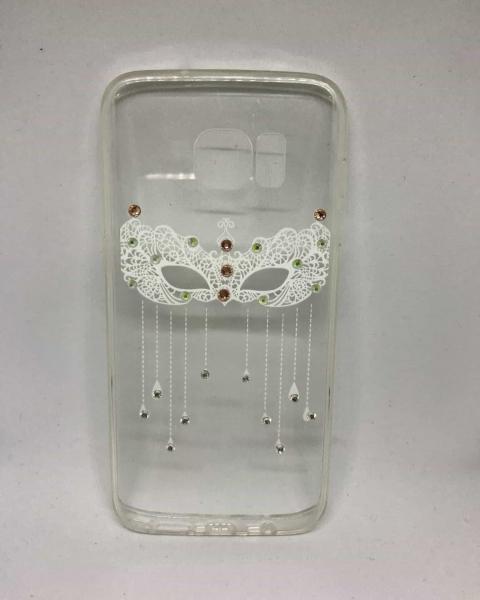 Husa White Mask Samsung Galaxy S7 Edge [0]