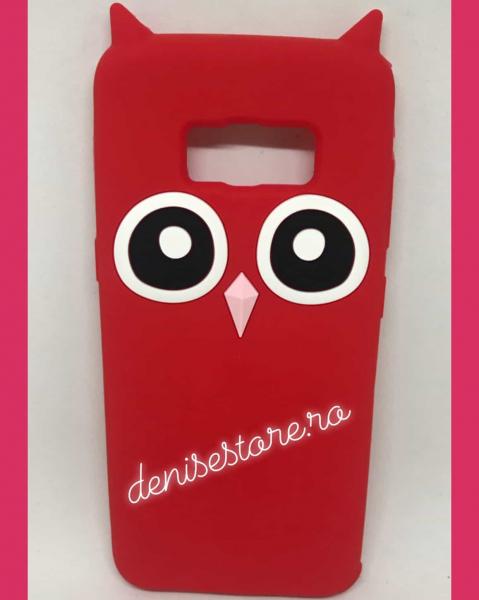 Husa 3D Red Owl Samsung Galaxy S8 [0]
