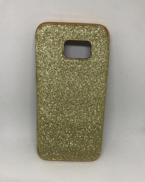 Husa Glitter Gold Samsung Galaxy S7 Edge 0