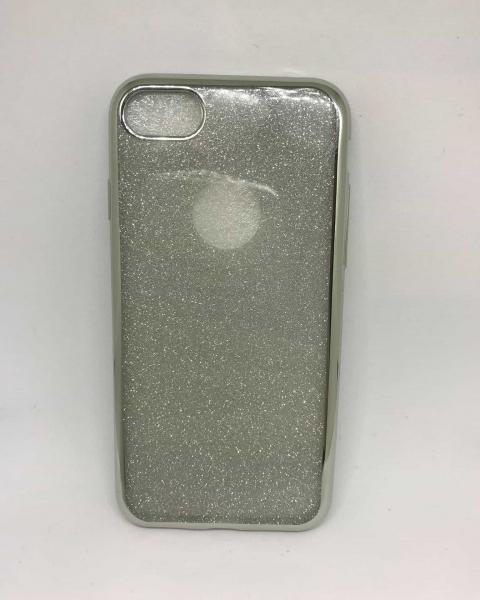 Husa Glitter Silver iPhone 7 / iPhone 8 0