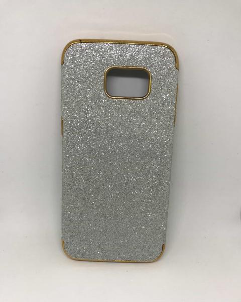 Husa Glitter Silver II Samsung Galaxy S7 Edge 0