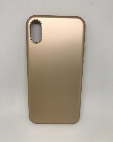 Husa Simple Gold iPhone X / XS 0