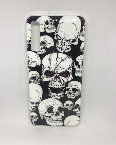 Husa Skull Samsung Galaxy A7 2018 0