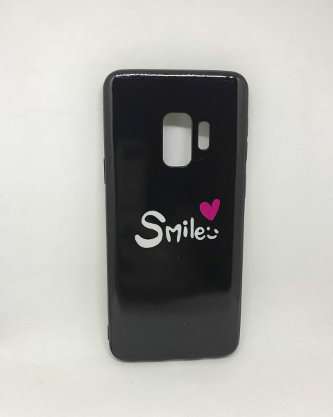 Husa Smile Black Samsung Galaxy S9 0