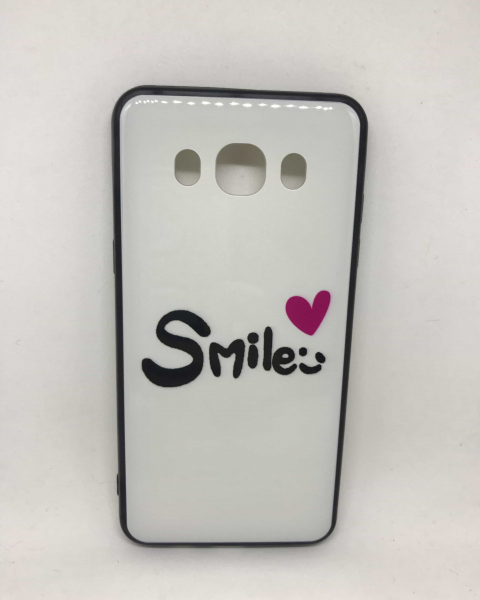 Husa Smile White Samsung Galaxy J5 2016 0