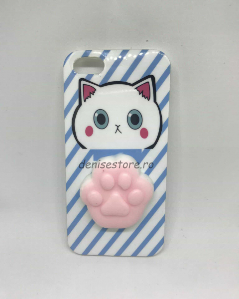 Husa Squishy Paw iPhone 5/5s/SE 0