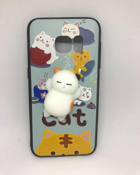 Husa Squishy Cat Samsung Galaxy S7 0