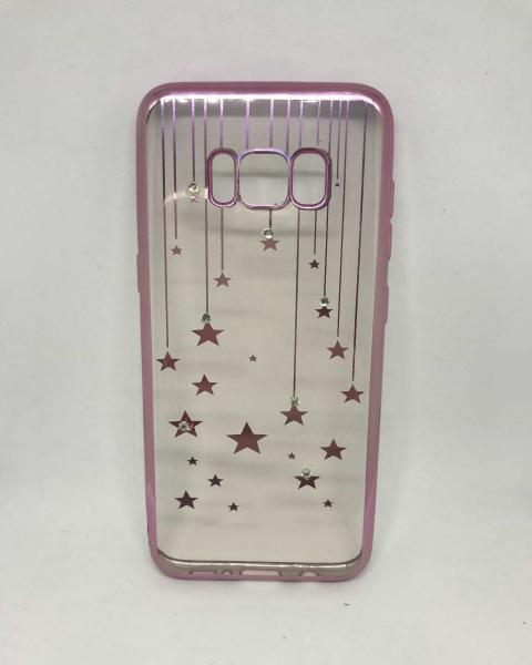 Husa Pink Stars Samsung Galaxy S8 0
