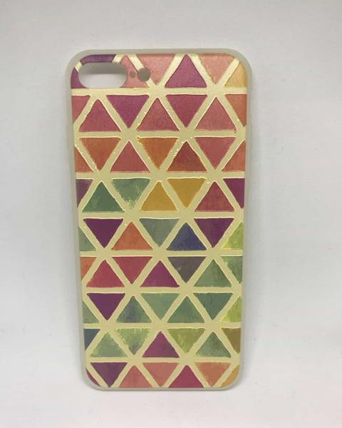 Husa Triangles iPhone 7 Plus / iPhone 8 Plus 0