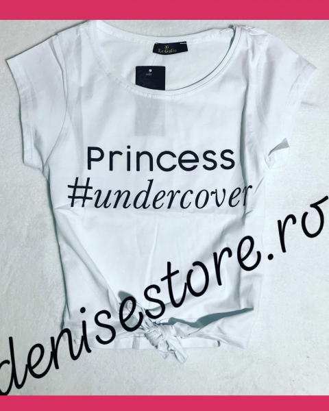 Tricou Princess Undercover White 0