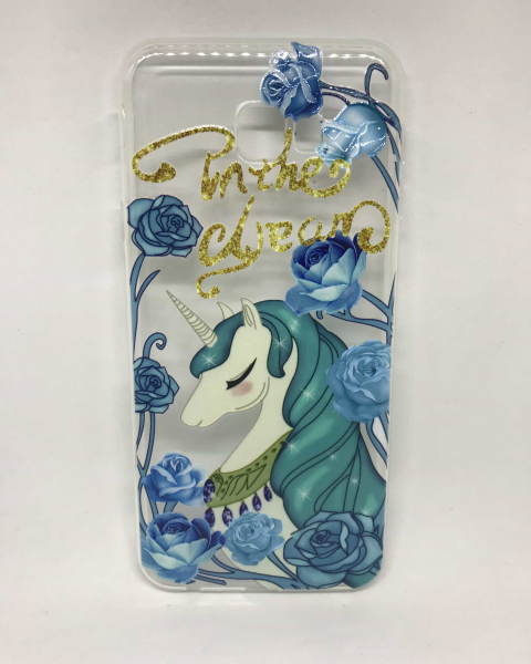 Husa Unicorn Blue Samsung Galaxy J4 Plus 2018 [0]