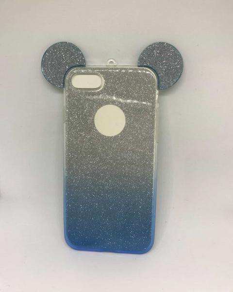 Husa Urechi Albastre iPhone 7 / iPhone 8 0
