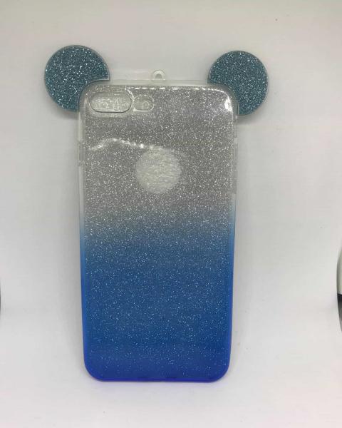 Husa Urechi Albastre iPhone 7 Plus / iPhone 8 Plus [0]