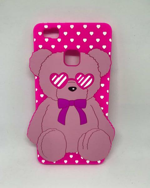Husa Pink Bear Huawei P9 Lite 2016 0
