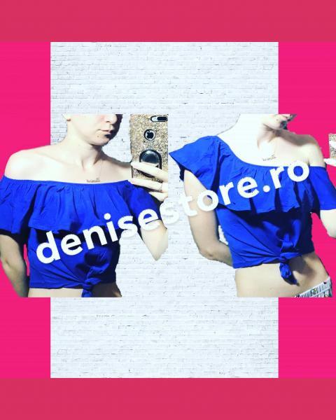 Tricou Volanase Blue 0
