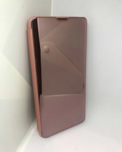 Husa Flip Clear View Mirror Rose Samsung Galaxy S10 Plus1