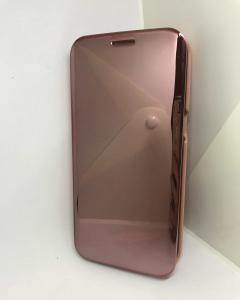 Husa Flip Clear View Mirror Rose Samsung Galaxy S7 Edge1