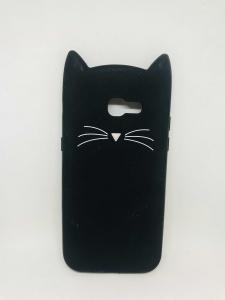 Husa 3D Cat Black (defect poza 2) Samsung Galaxy A5 20170