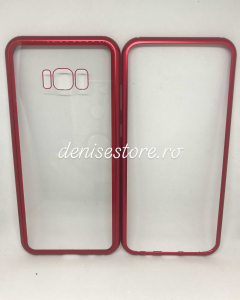Husa 360 Inchidere Magnetica Red Samsung Galaxy S8 Plus1