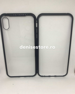 Husa 360 Inchidere Magnetica Black iPhone XS Max1
