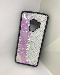 Husa Paiete Reversibile Pink Samsung Galaxy S9 [0]