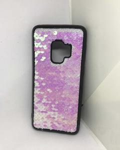 Husa Paiete Reversibile Pink Samsung Galaxy S9 [1]