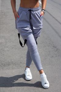 Pantaloni Vgb Black Gray0