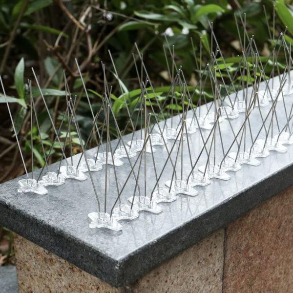 Țepi împotriva păsărilor Inox/PVC 0