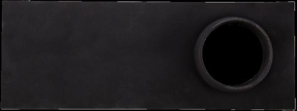 Plita din fonta fara rama cu gat burlan 471 mm x 172 mm [0]