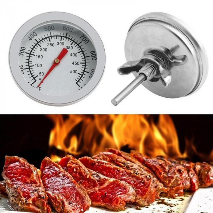 Termometru inox pentru gratar/barbeque [2]