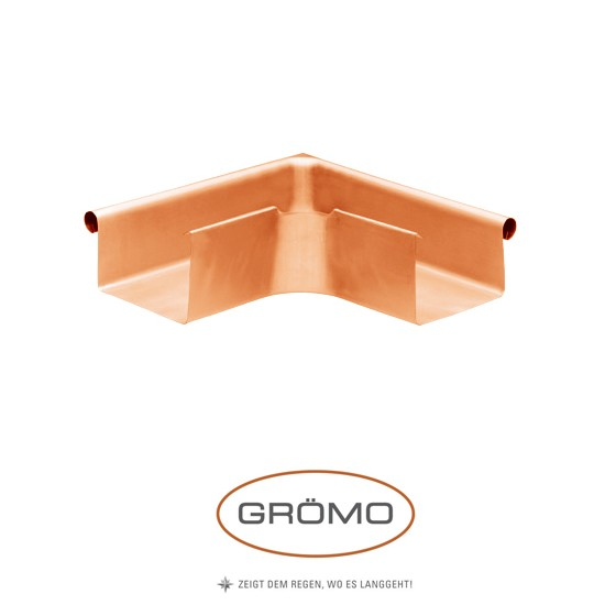 Coltar exterior jgheab rectangular Cupru Gromo [0]
