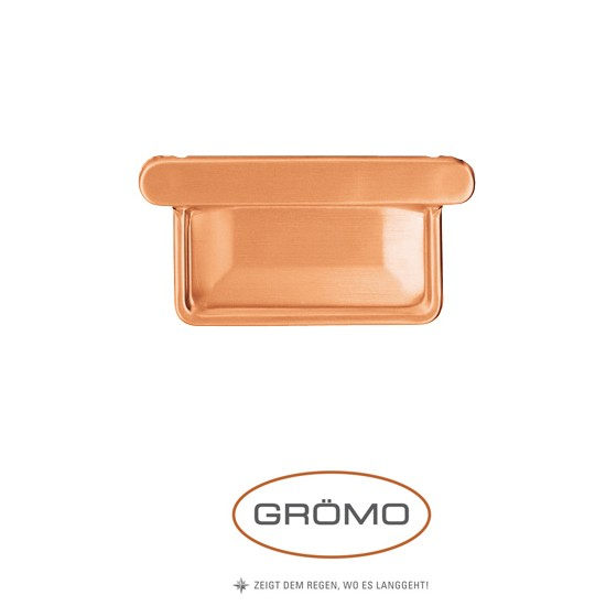 Capac de jgheab rectangular Cupru Gromo [0]