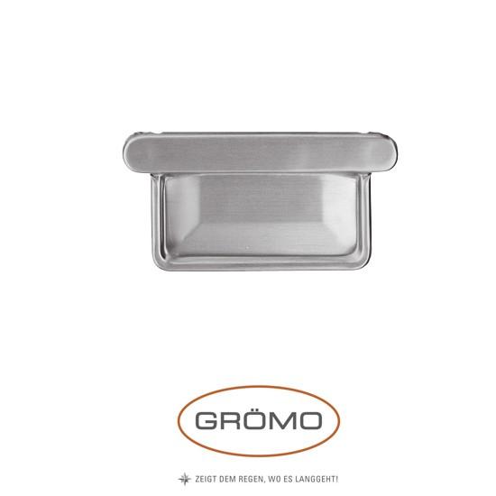 Capac de jgheab rectangular zinc Gromo [0]