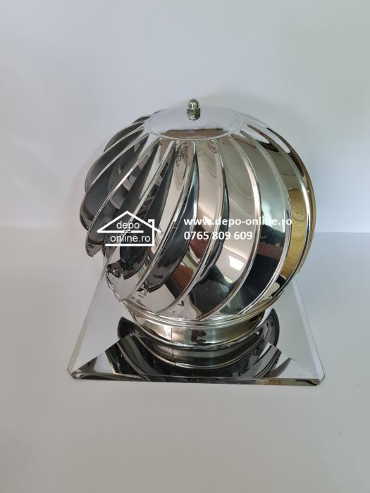 Capac (palarie terminal) rotativ cu talpa din inox [6]
