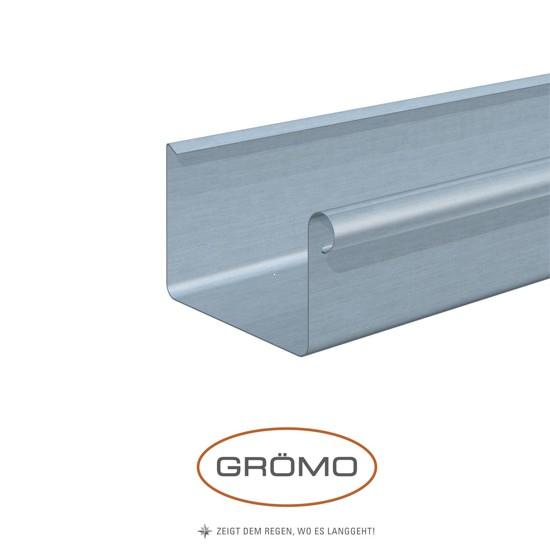 Jgheab rectangular din zinc Gromo [0]
