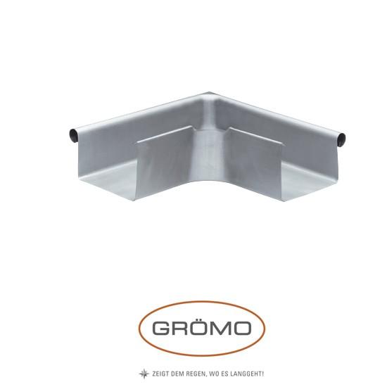 Coltar de jgheab rectangular exterior zinc Gromo [0]