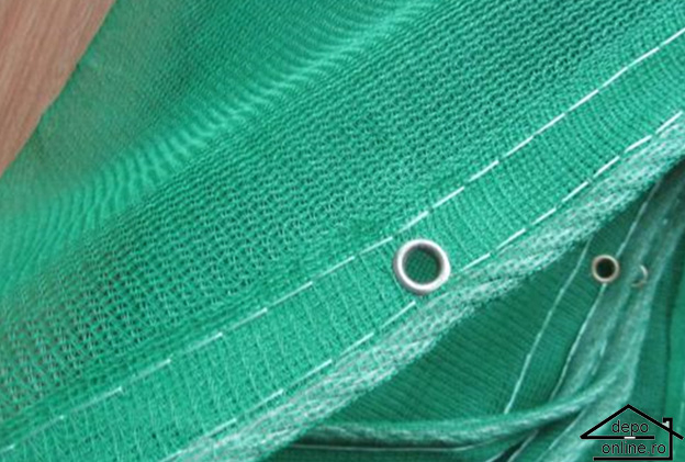 Plasa de umbrire verde 1.5 m grad umbrire 70% [0]