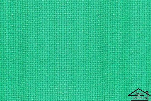 Plasa de umbrire verde 1 m grad umbrire 70% [0]
