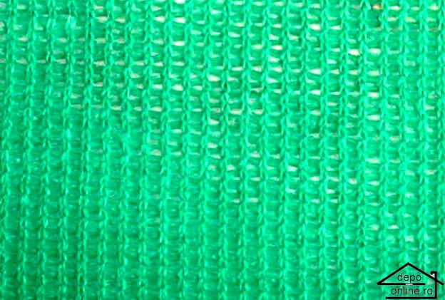 Plasa de umbrire verde 1.7 m grad umbrire 70% 0