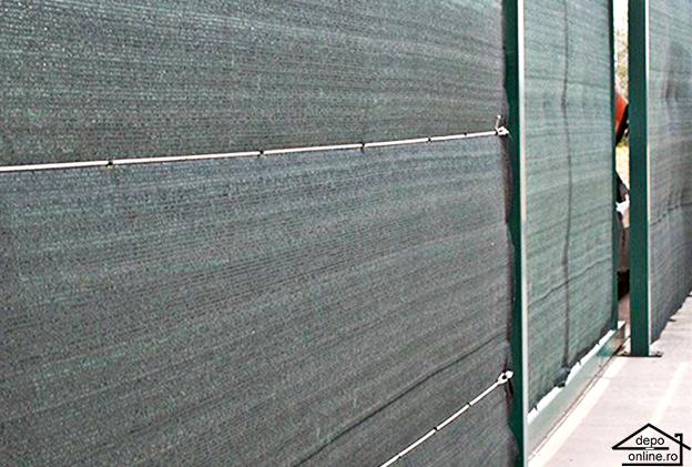 Plasa de umbrire verde 1.5 m grad umbrire 90% [0]