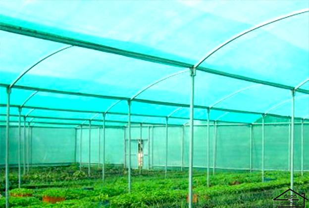 Plasa de umbrire verde 4 m grad umbrire 90% [0]