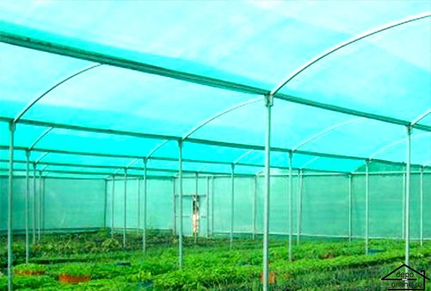 Plasa de umbrire verde 1 m grad umbrire 90% 3