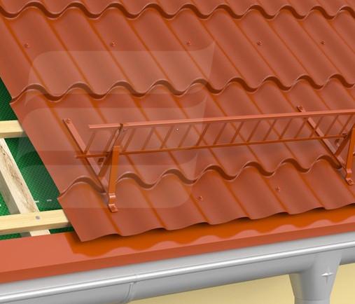 Suport grilaj parazapada tigla metalica [1]