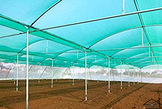 Plasa de umbrire verde 1.5 m grad umbrire 80% [0]